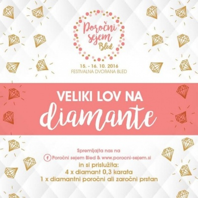 Lov na Diamant, poročni sejem BLED