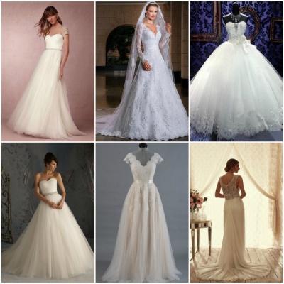 Preko spleta naročene poročne obleke