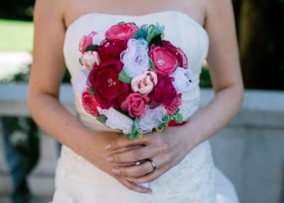 Drugačen poročni šopek