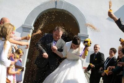 Poroka, poročna dekoracija, Idejka