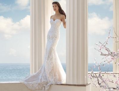 Lara načrtuje poroko - poročna obleka