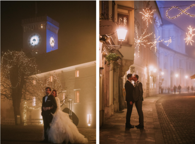 Poroka na Ljubljanskem gradu, Foto: Kmarcella
