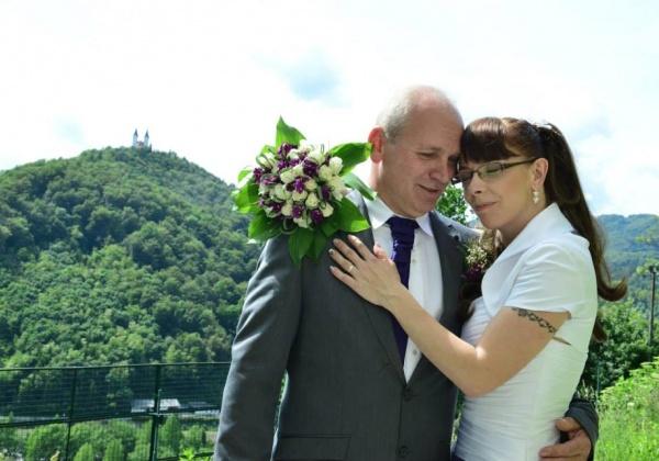 Poroka Lidija in Vlado