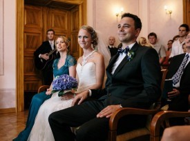 Poročni obred  -Bled
