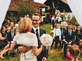 Gostilna Skaručna, poročna pogostitev, poročni prostor