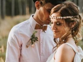 mladoporočenca, poročno fotografiranje