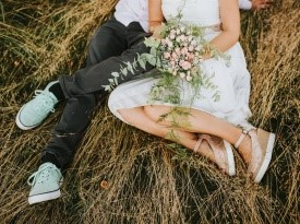 poročni fotograf, poročno fotografiranje, poročna obleka, poročni šopek