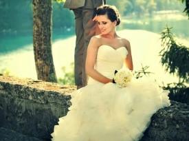 poročni par, poroka, bled, zaobljuba, foto geci, ljubezen