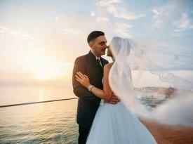 Dajana in Jovan, poroka ob morju, Zaobljuba.si