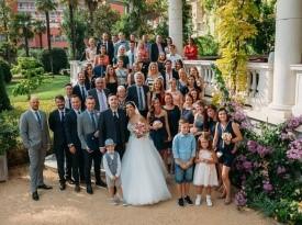 Poročno fotografiranje, poroka, svatje