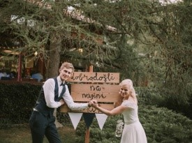 Poroka, poročni par, Zaobljuba.si