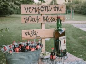 Poročna dekoracija, poroka, Zaobljuba.si