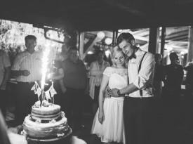 Poročna torta, ženin in nevesta, Zaobljuba.si