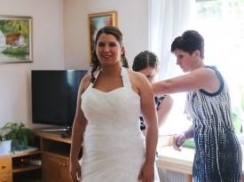 Priprave na poroko.