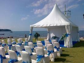 Poročni šotor - civilni obred