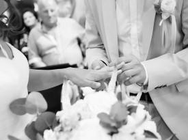 Izmenjava zaobljuba, poroka