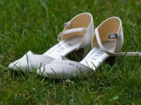 Poročni čevlji.