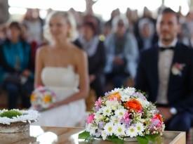 poročni prostor, grad strmol, poroka, zaobljuba