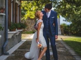 poroka, zaobljuba, poročni par, poročna obleka, poročni šopek