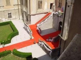 Poročno stopnišče do Viteške dvorane