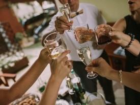 Poroka, veselje, zabava