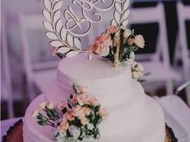 Poročna torta, Barbara in Blaž, Zaobljuba.si