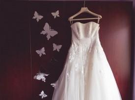 Poročna obleka, poročna fotografija, poročni fotograf