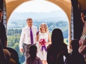 Poroka, poročni fotograf, poroka v hribih