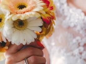 poroka, zaobljuba, nevesta, poročni šopek
