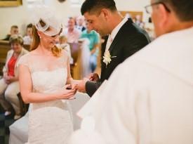Izmenjava poročnih prstanov