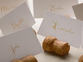 Poročne tiskovine, sedežni red, Literas kaligrafija, Zaobljuba.si