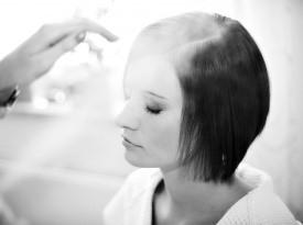 poročna frizura, poroka, zaobljuba