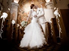Foto Zate - poročni poljub