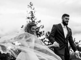 Poroka Adrijana in Žiga