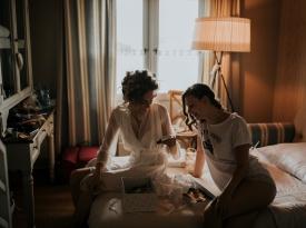 Adrijana in Žiga Dimec poroka