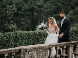 Poroka Adrijana in Žiga Dimec