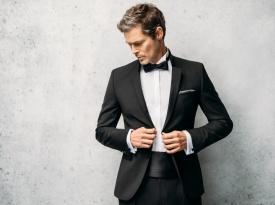 Poročna obleka, moška poročna obleka, Sens, Zaobljuba.si