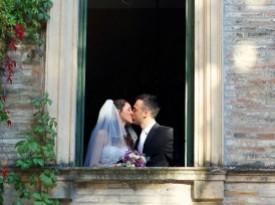 Poročni poljub Maja Rokavec