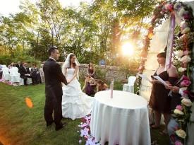 Poročni obred Maja Rokavec