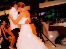 poročni ples, poročni par, kristina kham, poroka, zaobljuba