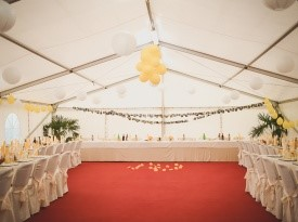 Poročni šotor