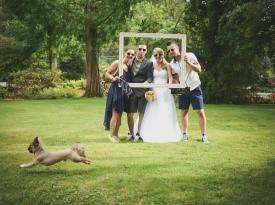 Poročno fotografiranje - svati, priča
