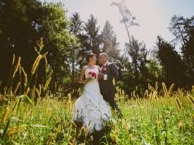 Poroka Cvetka in Roman Lesjak