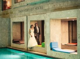 poroka, poročni prostor, rimske terme, toplice, zaobljuba, savna, poroka v naravi