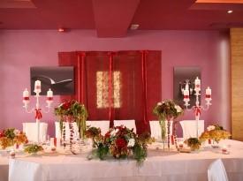 Poročno slavje, poročna pogostitev, poročna dekoracija