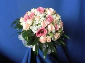Poročni šopek, poročno cvetje, poročna dekoracija.