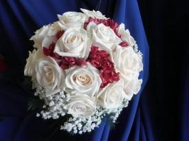 Poročni šopek, poročno cvetje.