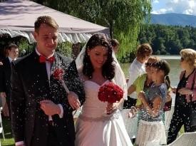 Poroka, Tea in Mitja, Zaobljuba.si