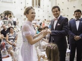 poročni par, poroka, zaobljuba