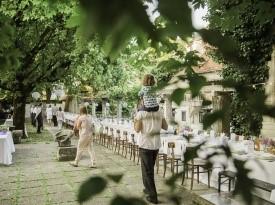 poročna pogostitev, poročna dekoracija, poroka, zaobljuba